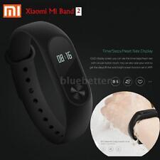 Original Heart Rate Xiaomi Mi Band 2 Smart Wristband Bracel Monitor IP67 J5S3