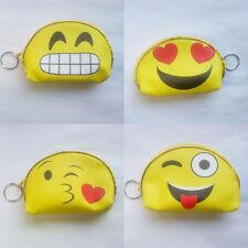 Emoji  Face Zipper classic cute change emoji expression coin bag cute pendant