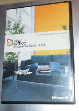 Microsoft MS Office Professional Retail BCM 2003 Word Excel Acces Powerpoint SP2