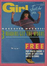 Girl  Magazine 24 January 1987      Paul Young      Berlin      The Eurythmics
