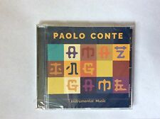 Paolo Conte - Amazing Game - Instrumental Music - Brand New and Sealed CD