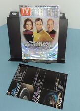 TV GUIDE ~ 35th anniversary STAR TREK - - special issue (2001)  w/ Poster !