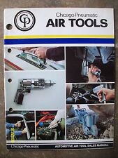 Original Vintage 1980 Chicago Pneumatic Air Tools Book