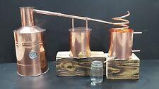 Copper MOONSHINE Still  -3 Gallon Whiskey Still Complete Kit Worm + Thumper