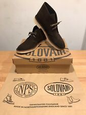 NPS SOLOVAIR Chocolate Suede Chukka Desert Boots! Size UK9! New! Only £109.90!