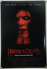 HOUSE OF THE DEAD DS ROLLED ORIG 1SH MOVIE POSTER VIDEO GAME HORROR (2003)