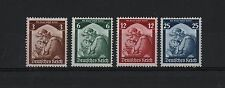 GERMANY 1935 SET 4 DEUTCHES REICH MOTHER & DAUGHTER MVLH SC# 448-451