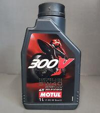 1 x Motul 300V 4T 5W40 L'HUILE DE MOTEUR motorradöl 1 Litre ROAD RACING ###