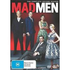 Mad Men : Season 2 (DVD, 2009, 3-Disc Set) Region 4 Brand New & Sealed