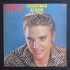 ELVIS PRESLEY Elvis' Christmas Album RCA GREEN LABEL UK Press VINYL LP NM