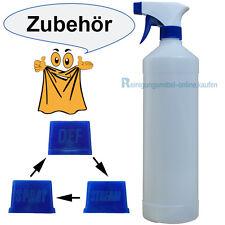 1 Liter leere Sprühflasche Kunststoff (20mm Ø Öffnung/ Sprühkopf mit Funktionen)