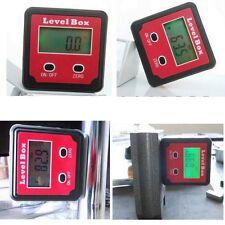 Digital Angle Gauge Meter Protractor Bevel Box Inclinometer 360° 4X90° STDJ-125