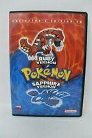 Nintendo Pokemon Ruby & Sapphire Version Collector's Edition CD 2003