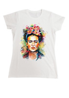Frida Kahlo T Shirt maglietta icona femminista donna artista art sku:359