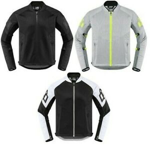 Icon Mesh AF Motorcycle Riding Jacket Mens All Colors & Sizes