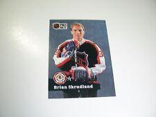 Brian Skrudland 1991 NHL Pro Set (French) NHL All-Star card #306