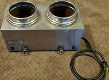Server 81220 Twin FS Topping Warmer