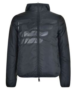 Armani Jeans men's hooded reversible light padded jacket size XXL(56)