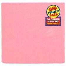 Art de la table de fête serviettes roses Amscan pour la maison