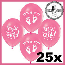 Its a Girl Babyballons Shower Party Geburt Babyparty Bebek Sekeri Pullerparty.