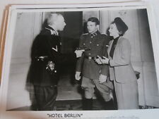 2 Vintage 8 X 10 Movie Photos from Hotel Berlin & Born for Trouble. DS9075