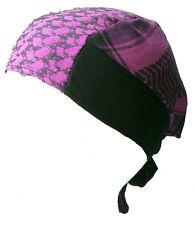 BABY PALI BANDANA Pink-schwarz Kopftuch