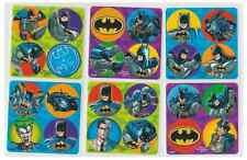 """80 Batman Mini Stickers, 1.2"""" Round Each, Party Favors"""
