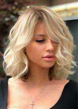 New Natural Wavy Light Blonde Fashion Women's Wigs