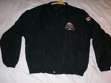 NBA All Star Weekend 1996 San Antonio Zipper Windbreaker Jacket Black Mens 2XL