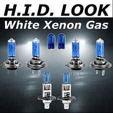 H7 H7 H1 55w White Xenon HID Look High Low Fog Beam Headlight Bulb Pack