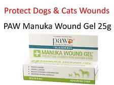 2 x 25g PAW Manuka Honey Wound Gel for Dogs Cats & Horses  (by BLACKMORES ) 50g