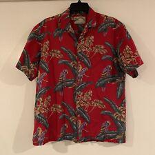 vintage paradise found magnum pi hawaiian shirt mens size medium/large costume