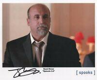 "Spooks MI-5 Auto Photo Print Joseph Long ""Raed Elwan"""