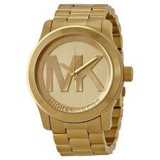 New Michael Kors MK5473 Gold Ladies Luxury Watch Designer - UK Seller