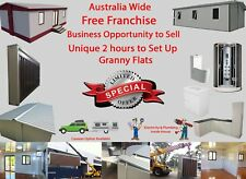 Distributor Partner Wanted Australia wide Unique 2 hours to set up Granny Flat'