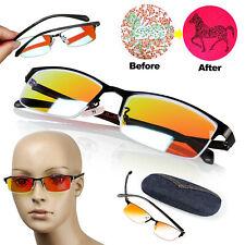 Color Blind Glasses Color Blind correction For Red/Green Colorblindness w/ Case