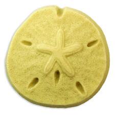Sand Dollar Soap Mold. Melt & Pour, Cold Process w/Instructions