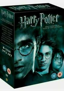 Harry Potter DVD Box Set 1-8 Complete 8 Film Collection Boxset - Region 2-New