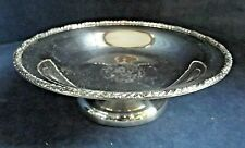 SUPERB ~ SILVER Plated ~ Snack / Fruit BOWL ~ c1920