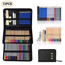 72pcs Skizzierstifte Set Bleistifte Zeichnen Skizzieren Kohlestift Zeichenstift