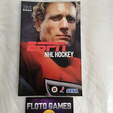 Notice de ESPN NHL Hockey pour Playstation 2 PS2 PAL FR - Floto Games