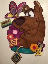 New listing Scooby Doo Butterfly Friend Summer Flower Applique Mini Window Garden Yard Flag