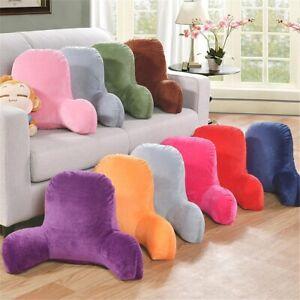 Back Rest Pillow Plush Sofa Decorative Reading Lumbar Support Home Decor Chair