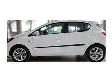 Zierleiste Seitenschutz Türschutz für Opel Corsa E Hatchback 2014-