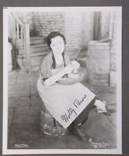 Molly Picon Actress Autographed Photo Comedian Yiddish theater & Fiddler on ....