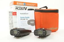 Used PocketWizard Plus IV Tansceiver Bonus Bundle 3 MINT
