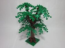 "LEGO custom forest tree 8"" tall, small green leaves, new parts, FREE U.S. Ship!"