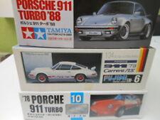 Rar: 3 Porsche 911 Sportwagen Kits von Fujimi, Tamiya und Arii ungebaut OVP 1:24