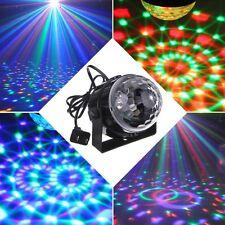 Bola giratoria luz de Discoteca iluminación para fiestas y eventos dj