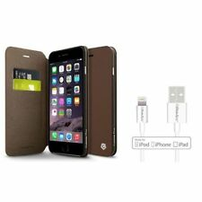 Étuis, housses et coques avec clip marron iPhone 6 Plus pour téléphone mobile et assistant personnel (PDA)